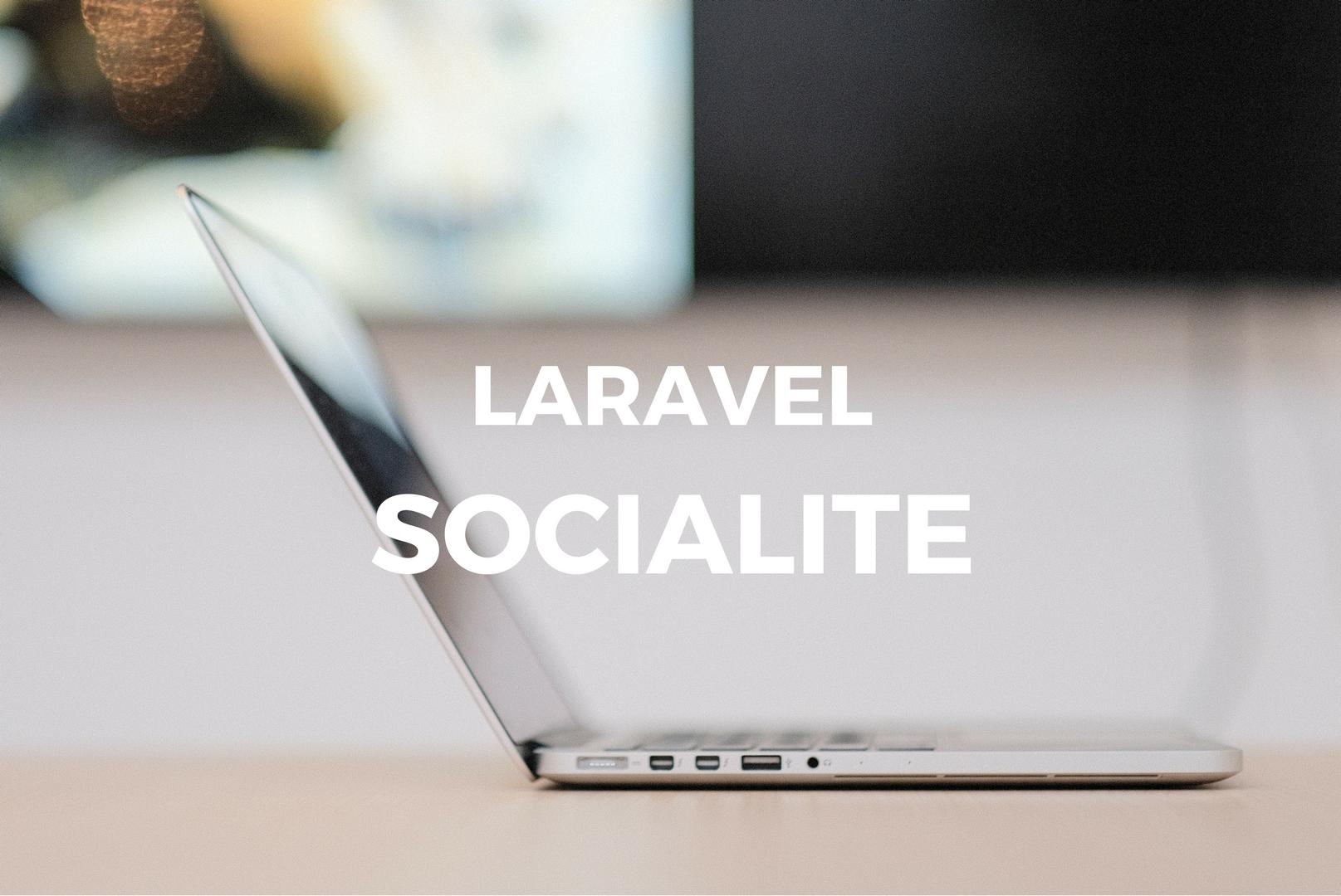 Laravel 5 6 : Social Authentication with Laravel Socialite – Quantizd