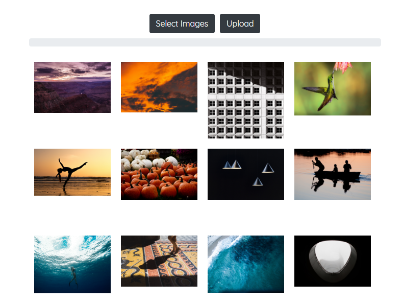 Building an Image Gallery with Laravel and React – Quantizd